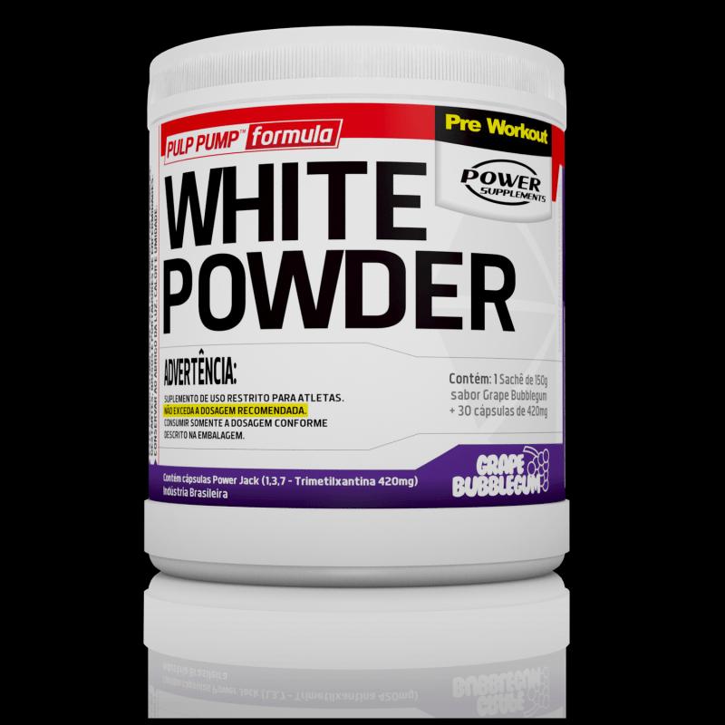 White Powder (150g + 30caps) Power Supplements