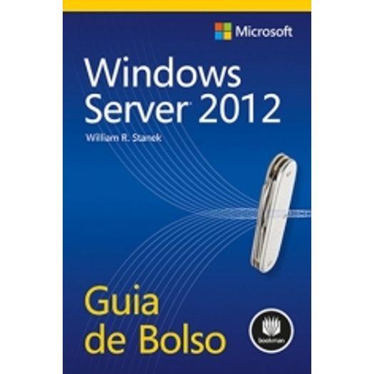 Windows Server 2012 - Bookman