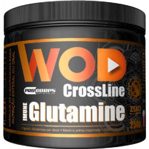Wod Glutamina - 250g - Crossline - Procorps