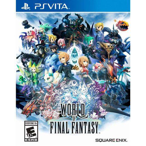 World Of Final Fantasy - Ps Vita