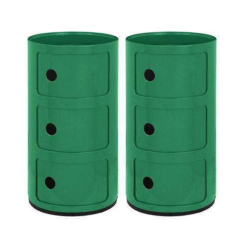2 X Módulos Castelli 3 Andares - Verde