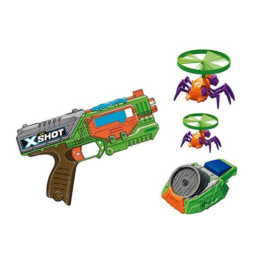 X Shot Bug Attack Lançador de Dardos Swarm Sekeer com Launcher Flying Bugs - Candide X Shot Bug Attack Lançador de Dardos Swarm Sekeer com Launcher Flying Bugs - Candide