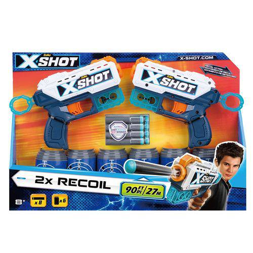 X Shot Double Recoil Can5525