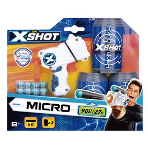 X-shot Excel- Lança Dardos Micro C/latas