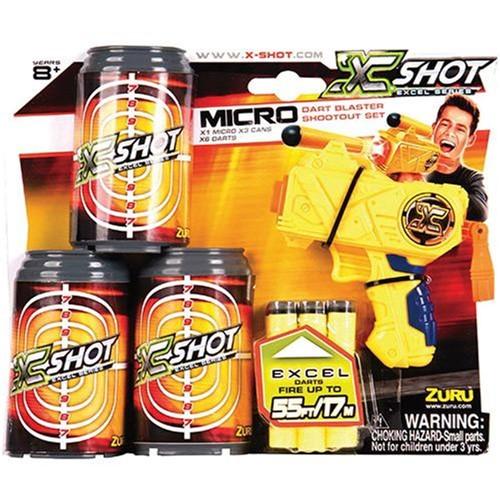 X-Shot Micro X3 com Latas 3 Tiros CANDIDE