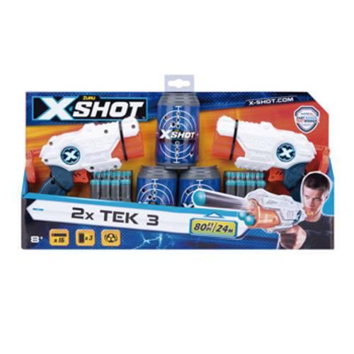 X-shot - Micro X3 Double - C/latas 2x3tiros