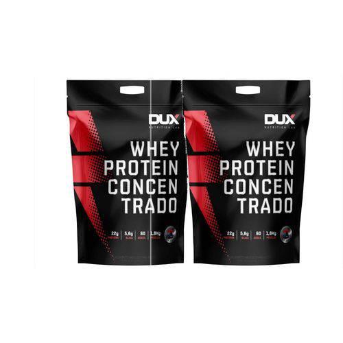 2 X Whey Protein Concentrado - 1800g - Dux Nutrition