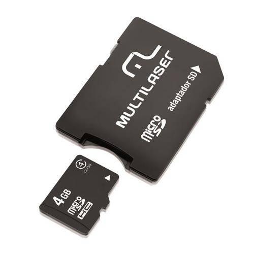 2x1: Adaptador Sd + Cartao de Memoria Classe 4 4gb