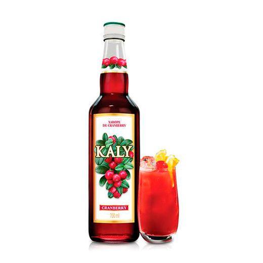 Xarope Kaly Cranberry 700ml