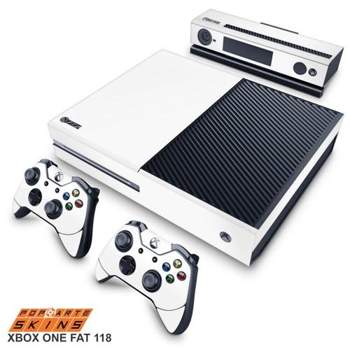 Xbox One Skin - Branco Adesivo Brilhoso