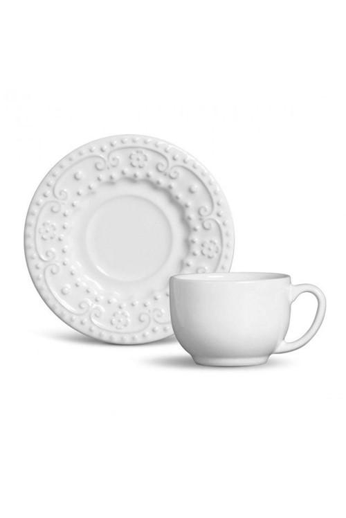 Xícara de Chá Esparta Branco