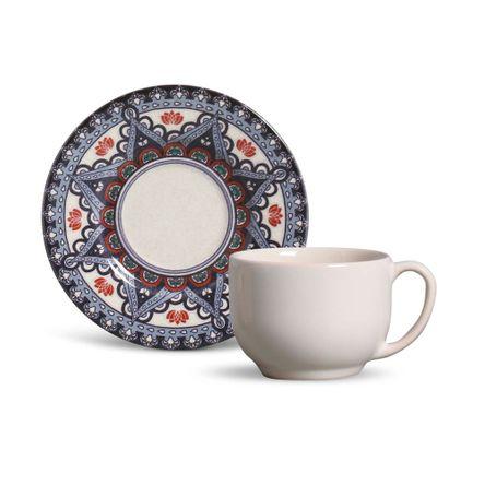 Xícara de Chá Mônaco Constantinopla- 06 Unidades