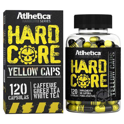 Yellow Hardcore - 120 Cápsulas - Atlhetica Nutrition