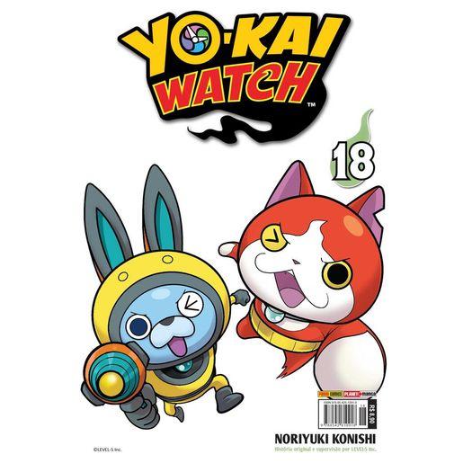 Yo Kai Watch 18 - Panini