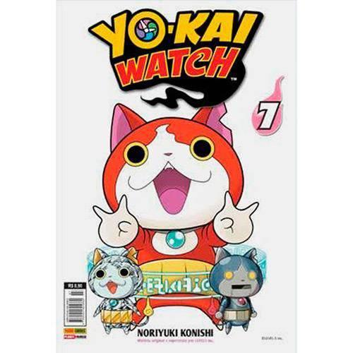 Yo-kai Watch Vol. 07 - 1ª Ed.
