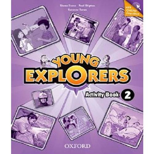 Young Explorers 2 Ab W Online Practice Pk