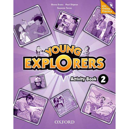 Young Explorers 2 Wb W Online Practice Pk