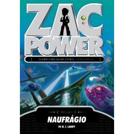 Zac Power 20 - Naufragio - Fundamento