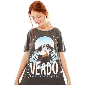 Ze Filho T-Shirt Veado Preto - M