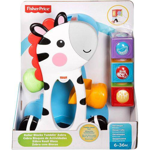 Zebra Blocos Surpresa Cgn63 - Fisher Price