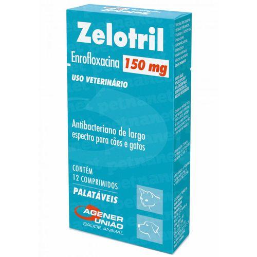 Zelotril 150 Mg – 12 Comprimidos - Agener 150mg