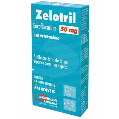 Zelotril 50 Mg – 12 Comprimidos - Agener 50mg