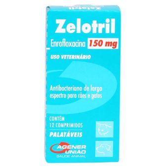Zelotril Agener 150mg C/ 12 Comprimidos