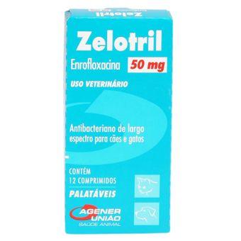 Zelotril Agener 50mg C/ 12 Comprimidos