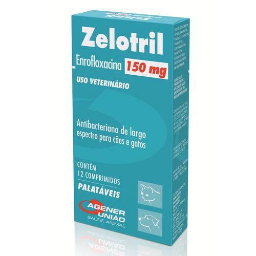 Zelotril Agener União 150mg 12 Comprimidos