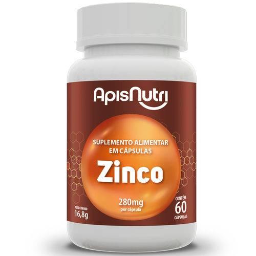 Zinco 280Mg Apisnutri 60 Cápsulas