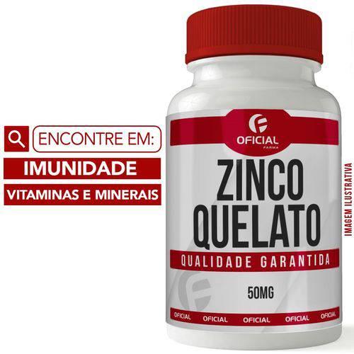 Zinco Quelato 50mg 60 Cápsulas - Of