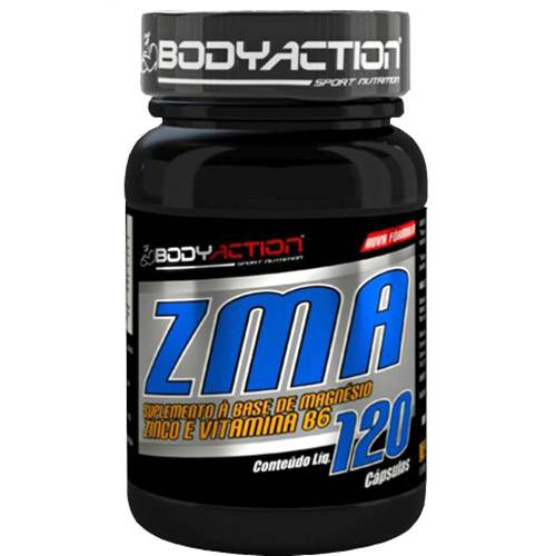 ZMA IGF-1 - 120 Cápsulas - Body Action