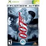 007 Everything Or Nothing Platinum Hits - Xbox