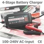 12 V 5a Automatico Inteligente Carregador de Bateria Desulfator para Baterias de Chumbo Acido Carregador de Bateria de Carro 100-240 V Ac Entrada