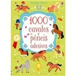 1000 Cavalos e Poneis Adesivos - Usborne