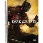 4 X Cadernos 1 Matéria Capa Dura 2019 Dark Souls Iii 96 Folhas