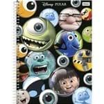 4 X Cadernos 1 Matéria Capa Dura 2019 Disney Pixar 96 Folhas