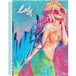 4 X Cadernos 1 Matéria Capa Dura 2019 Lolly 96 Folhas