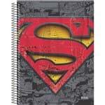 4 X Cadernos 10 Matérias Capa Dura 2019 Superman 200 Folhas Cada