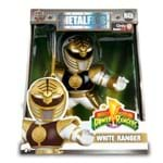 4414 Power Rangers Metal Diecast 10cm Ranger Branco M406
