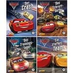 4Er - Disney Cars 5 - 8 - Nelson Mini-Bücher