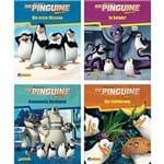 4Er - Dreamworks Die Pinguine Aus Madagascar 1-4 - Nelson Mini-Bücher