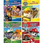 4Er - Paw Patrol 1-4 - Nelson Mini-Bücher