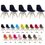 5 Cadeiras Eiffel Eames Dsw Várias Cores - (azul Marinho)