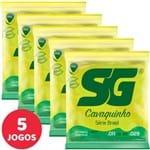 5 Encordoamento SG P/ Cavaquinho Tensão Pesada 5131 Série Brasil