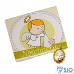 50 Cartões com Medalha de Nascimento | SJO Artigos Religiosos