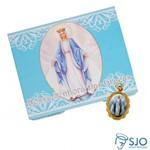 50 Cartões com Medalha de Nossa Senhora das Graças | SJO Artigos Religiosos