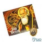 50 Cartões com Medalha de São Bento | SJO Artigos Religiosos