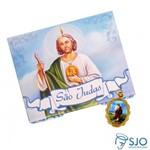 50 Cartões com Medalha de São Judas Tadeu | SJO Artigos Religiosos