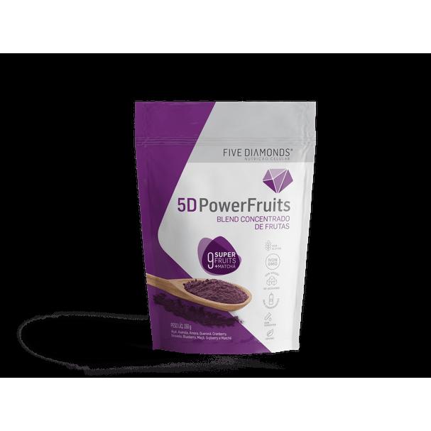 5D PowerFruit - Blend Concentrado de Frutas em Pó